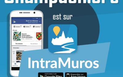 Champdeniers dans votre poche avec l'application IntraMuros